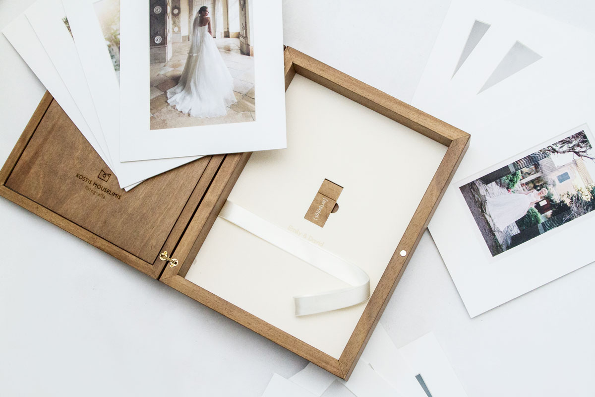 Matted Prints & USB drive